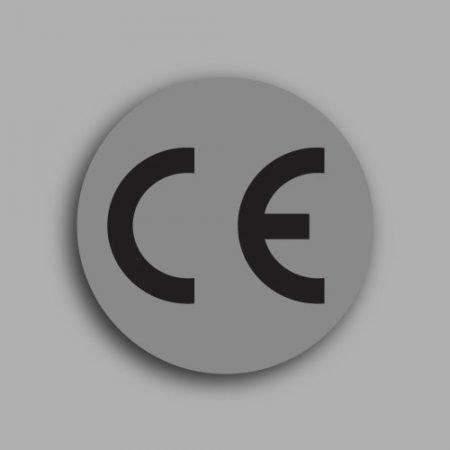 Bollino con simbolo CE