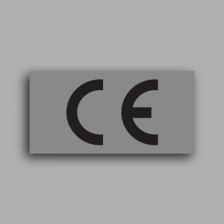 Etichetta con marcatura CE