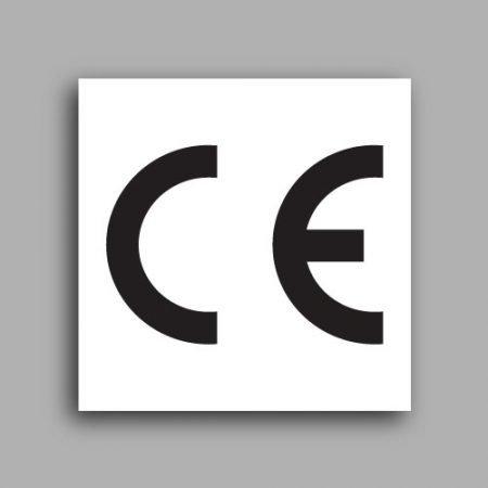 Etichette con simbolo CE