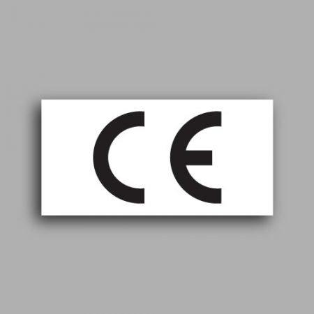 Etichetta con simbolo CE