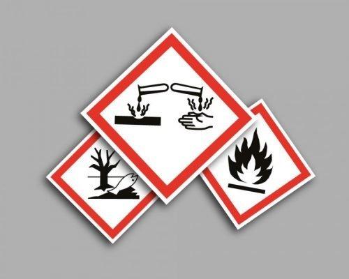 Pittogrammi di pericolo CPL - GHS