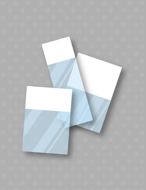 Etichette marcafilo autolaminanti per cavi con parte stampabile di colore bianco