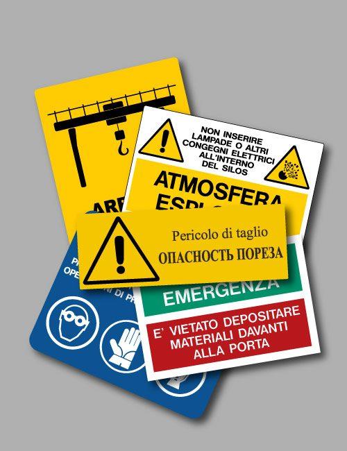 Cartelli personalizzati in alluminio, segnaletica custom