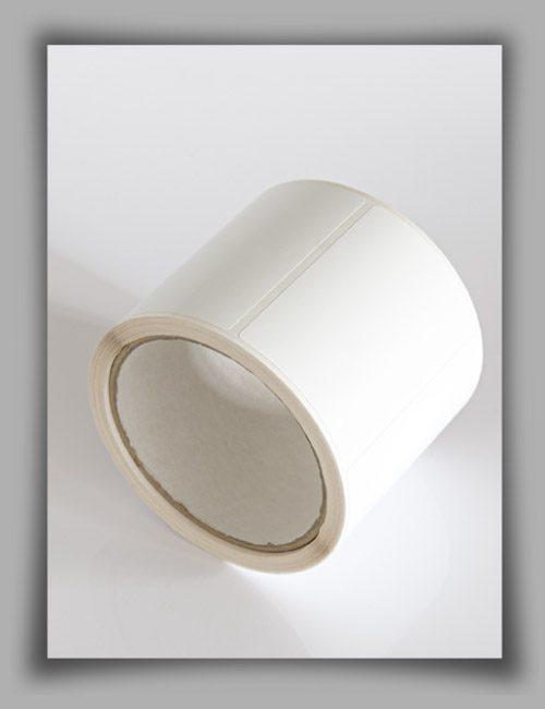 Etichette in poliestere bianco opaco per stampanti a trasferimento termico