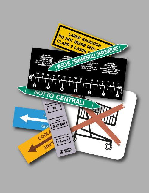 etichette personalizzate di lunga durata