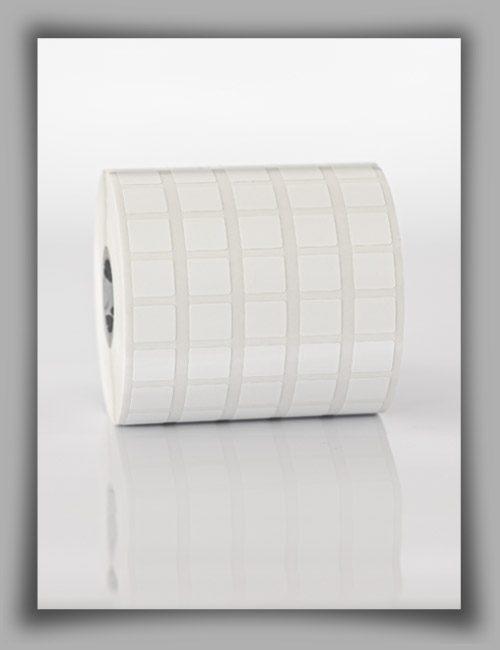 Etichette antimanomissione ultra-distruttibili in rotolo per stampanti a trasferimento termico