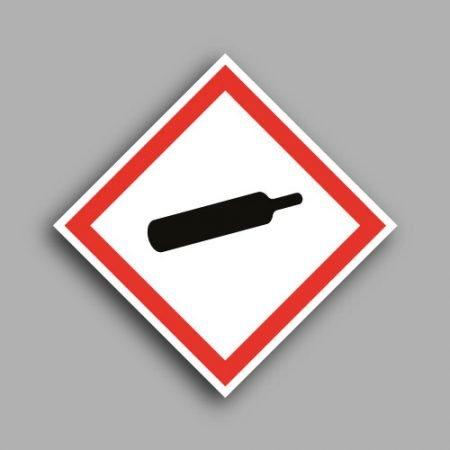 Pittogramma con simbolo GHS4 | Gas compressi