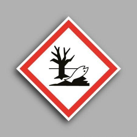 Pittogramma con simbolo GHS09 | Pericolo per l'ambiente acquatico