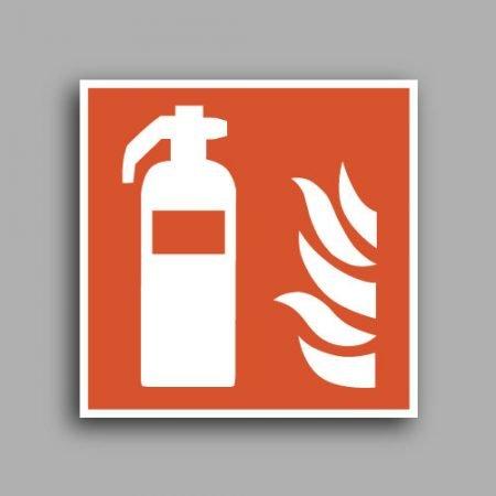 Etichetta con simbolo ISO 7010 F001 | Estintore