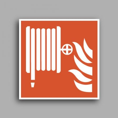 Simbolo ISO 7010 F002 | Lancia antincendio