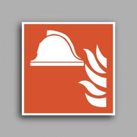 Simbolo ISO 7010 F004 | Attrezzature antincendio