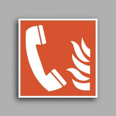 Simbolo ISO 7010 F006 | Telefono di emergenza