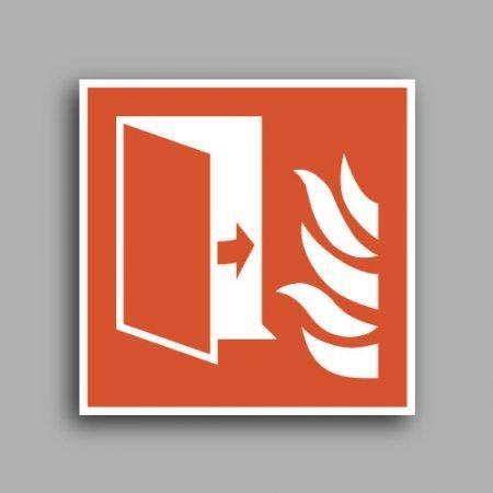 Simbolo ISO 7010 F007 | Porta tagliafuoco