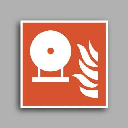 Simbolo ISO 7010 F013 | Estintore antincendio fisso