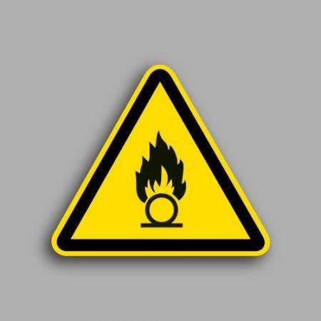 Etichetta con simbolo ISO 7010 W026 | Pericolo batterie in fase di carica