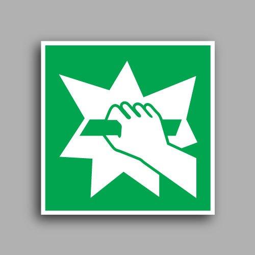 Simbolo E008 | Rompere in caso di emergenza