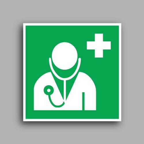 E009 etichetta adesiva dottore