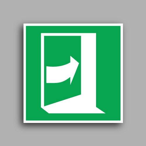 Simbolo E023 | Porta con apertura a spinta lato destro